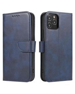 Capa Iphone 11 Flip Elegante Azul