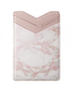 Porta Cartões Spigen Cyrill Shine Wallet Marmore Rosa