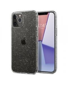 Capa Iphone 12 Pro SPIGEN Liquid Crystal Glitter Transparente