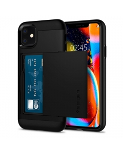 Capa Iphone 11 SPIGEN Slim Armor CS Preto