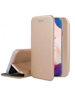 Capa Samsung Galaxy A72 5G Flip Lux Dourado