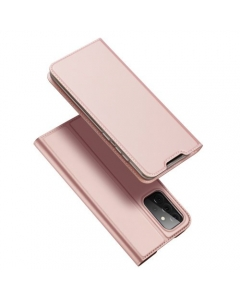 Capa Samsung Galaxy A72 5G Flip DX Rosa c/ Apoio