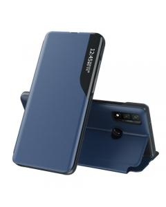 Capa Huawei P Smart 2020 Flip S-View Elegante Azul