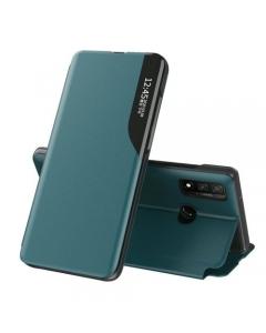 Capa Huawei P30 Lite Flip S-View Elegante Verde