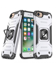 Capa Iphone SE 2020 Ring Armor Prateado