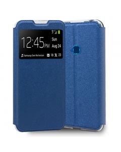 Capa Samsung Galaxy A20s Flip Alta Qualidade Azul
