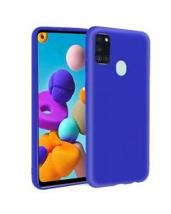 Capa Samsung Galaxy A21s Gel Azul
