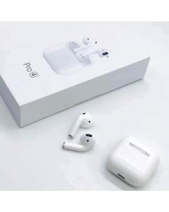 Airpods Pro 4 Auriculares Bluetooth sem Fios Branco