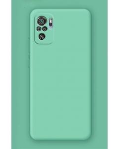 Capa Xiaomi Redmi Note 10 Silky Verde Agua
