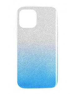 Capa Iphone 12 Pro Brilhantes Alta Qualidade Degradê Prateado Azul