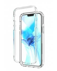 Capa 360º Duplo Acrilico Iphone 12 Pro Transparente