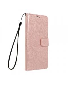 Capa Samsung Galaxy A02s Flip Mandala Rosa com Apoio e Slot Cartões