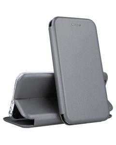 Capa Iphone 7 / 8 Flip Lux Cinza
