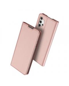 Capa Samsung Galaxy A32 5G Flip DX Rosa c/ Apoio
