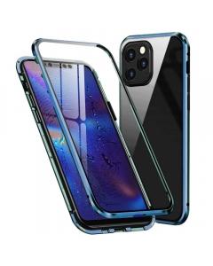 Capa 360 Magnética Completa Iphone 12 Pro Azul