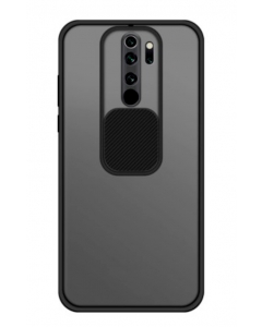 Capa Xiaomi Redmi 9 Hibrida com Proteção Camera Preto