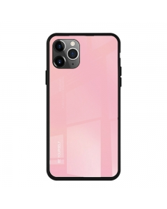 Capa Iphone 12 Pro Forcell Glass Rosa