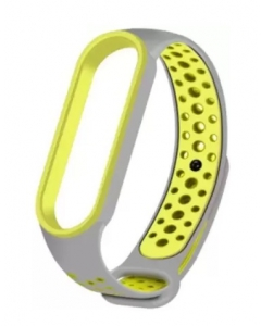 Bracelete Xiaomi Mi Band 5 Desportiva Cinza Verde
